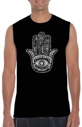 Los Angeles Pop Art Big Men's sleeveless t-shirt - hamsa