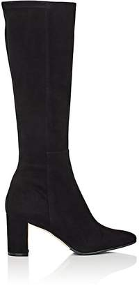 Manolo Blahnik Women's Pita Stretch-Suede Knee Boots