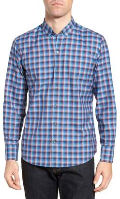 Zachary Prell Pinker Plaid Sport Shirt