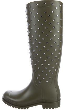 Saint LaurentSaint Laurent Embellished Rain Boots