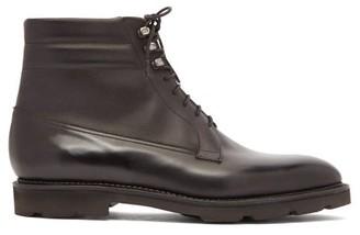John Lobb Alder Leather Boots - Mens - Black