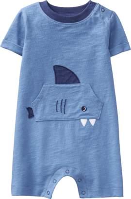 Gymboree Shark Pocket 1-Piece