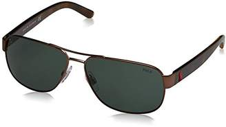 Polo Ralph Lauren Men's 0ph3089 0PH3089 Square Sunglasses