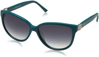 Swarovski Felicity Cateye Sunglasses in Shiny Turquoise SK0120 87P