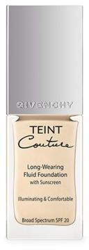 Givenchy Teint Couture Long-Wearing Fluid Foundation SPF 20/ 0.8 oz. $51 thestylecure.com
