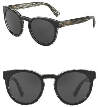 Dolce & Gabbana 53mm Solid Sunglasses