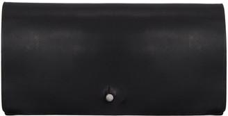 Rick Owens Black Medium Flat Wallet $330 thestylecure.com