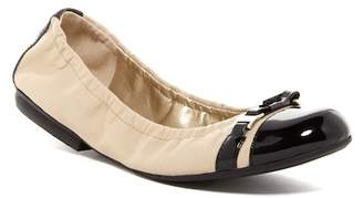 Tahari Veronica Ballerina Flat $89 thestylecure.com