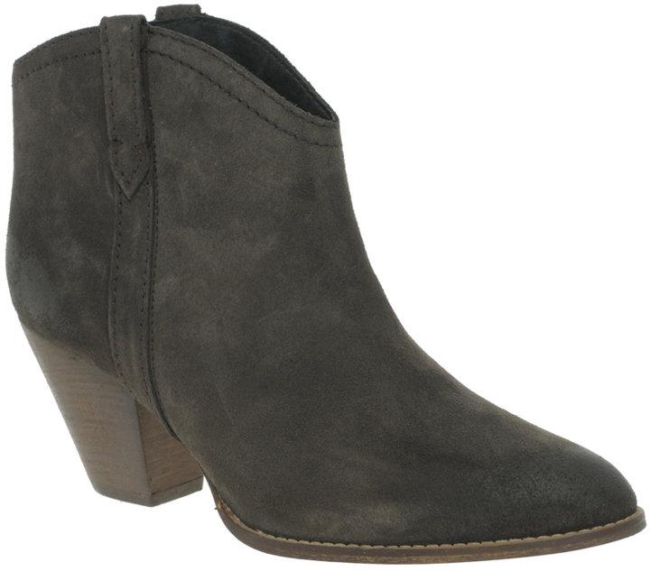 Mango Paris Low Heel Ankle Boots