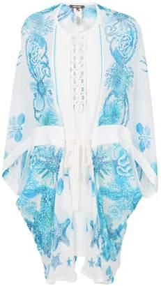 Roberto Cavalli printed smock dress