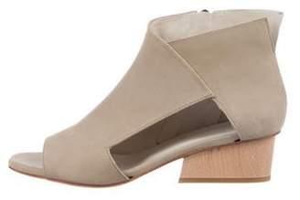 Coclico Leather Cutout Sandals