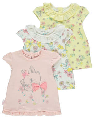 CAT George Disney The Aristocats Marie Pastel Floral Tops