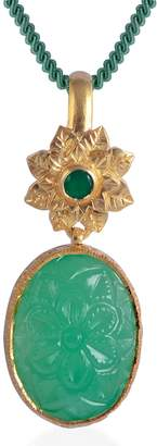 Bodhi Emma Chapman Jewels Chrysoprase Pendant