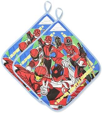 Bandai (バンダイ) - (バンダイ) BANDAI 宇宙戦隊キュウレンジャー ループ付きハンドタオル(スーパー戦隊シリーズ)2枚組 2875319 キャラクターカラー 34×34cm