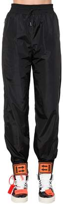 Off-White Nylon Sweatpants