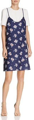 LIKELY Scattered Garden Kinney Layered-Look Dress $188 thestylecure.com
