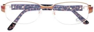 Cazal round frame glasses