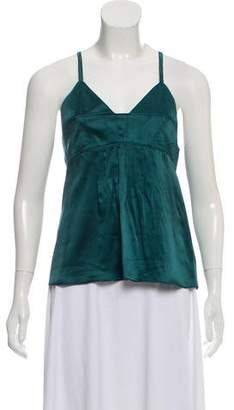 Proenza Schouler Sleeveless Silk Top