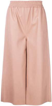Stella McCartney elasticated waist cropped trousers