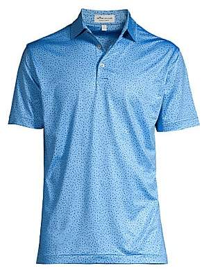 Peter Millar Men's Crown Sport South Of The Border UPF 50+ Print Shirt