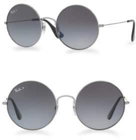 Ray-Ban Ja-Jo 55MMMirrored Round Sunglasses