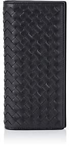 Bottega Veneta Men's Intrecciato Breast-Pocket Wallet-Black