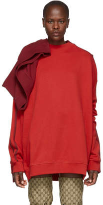 Y/Project Red Double Sweatshirt