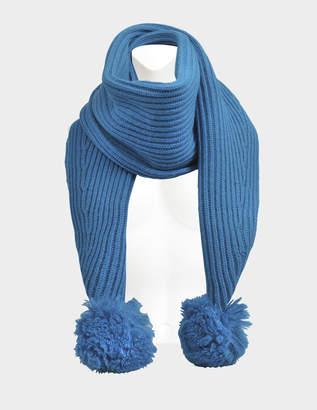 Acne Studios Sia S wool scarf with pompon