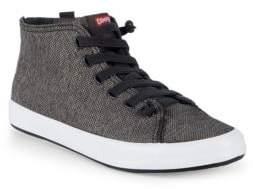 Camper Textured High-Top Sneakers
