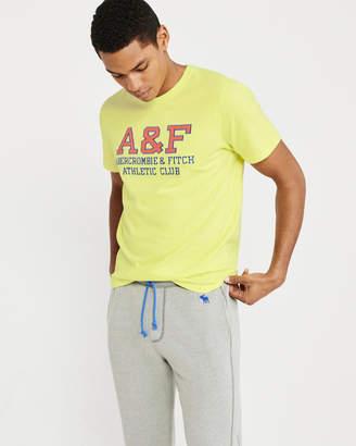 Abercrombie & Fitch Applique Logo Tee