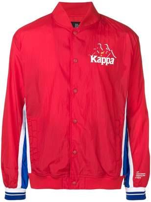 Kappa lightweight bomber logo jacket