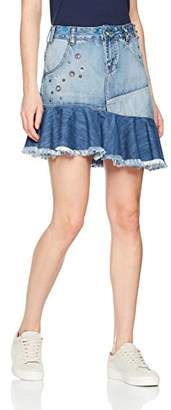 Desigual Women's Eleni Denim Skirt
