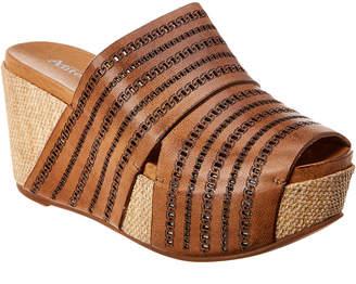 Antelope 751 Leather Wedge Sandal