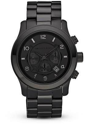 Michael Kors Men's Black Watch, 45mm
