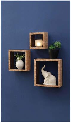 Neu Home Cork Wall Cubes Set Of 3