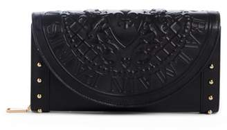 Balmain Renaissance Leather Wallet on a Chain
