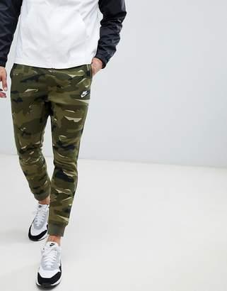 Nike Camo Jogger In Green AR1306-325