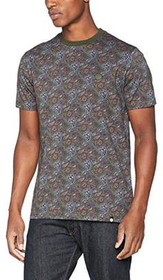 Pretty Green Men's Golbourne Paisley Ss Tee T-Shirt,Small