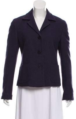 Max Mara Wool Notch-Lapel Jacket