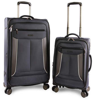 Perry Ellis American Traveler Viceroy Ii 2-Piece Luggage Set 02ad4639ef032