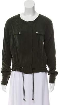 Zac Posen Lightweight Zip-Up Jacket