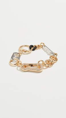 Marc Jacobs Mixed Hardware Bracelet