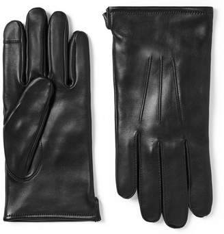 J.Crew Wool-Blend Lined Leather Gloves