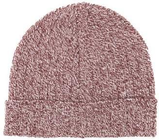 A.P.C. Jacquot Wool Beanie Hat - Mens - Burgundy