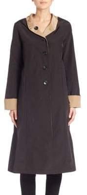 Jane Post Reversible Hooded Coat