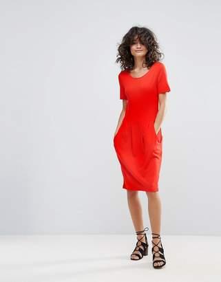 Vila Shift Dress With Pockets