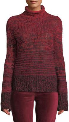 Zadig & Voltaire Chrome Cashmere Turtleneck Sweater
