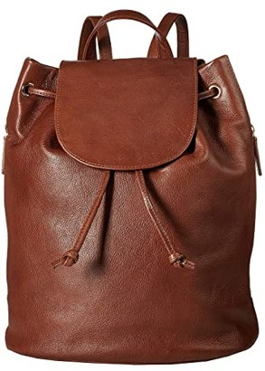 Scully Cloe Leather Backpack