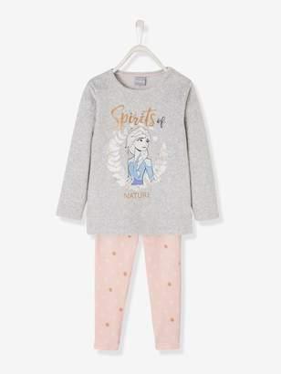 Vertbaudet Velour Pyjamas for Girls, Frozen by Disney