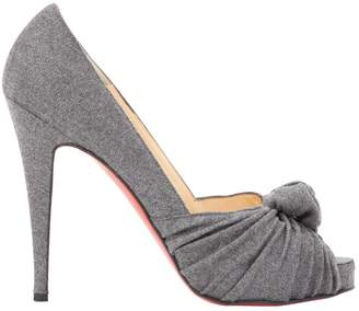 Christian Louboutin Very Prive Cloth Heels